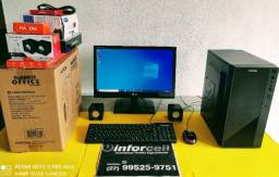Computador novo Intel Core i5-3570s 4gb mem ssd 120gb+hd 500gb tela 19 Garantia 1 ano