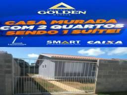 "Financie Sua Casa+Terreno 200m2, ""suíte' Laje, Murada, Use Fgts"