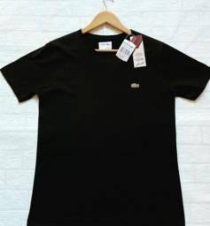 Camiseta Camisa Lacoste Básica Premium Importada 100%Cotton