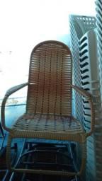 Cadeiras de balanço fibra sintética