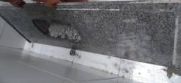 Pia de marmore 150 x 56