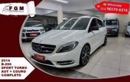 Mercedes-benz B 200 1.6 Sport Turbo Gasolina Aut 2014