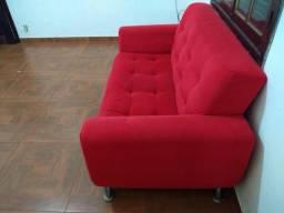Vendo sofá com pé de inox