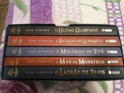 Box Do Percy Jackson e os Olimpianos