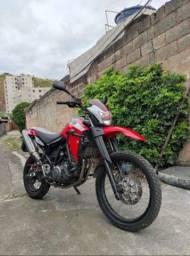 XT 660R Vermelha 2008