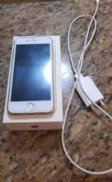 Iphone 8 64Gb, carregador e cabo originais