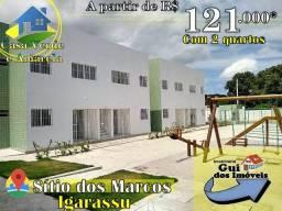 Casas Estilo Privê - Igarassu - 121 MIL