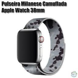 Pulseira De Metal Milanese Apple Watch 38mm.