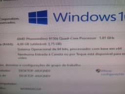 Computador Completo Amd 4GB memória