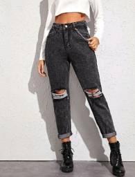 calça jeans shein