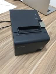 Impressora Epson TM-T20 térmica cinza