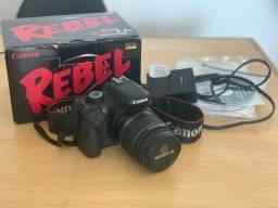 Canon T2i + 18-55mm em Excelente estado!