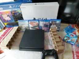 Playstation 4 zerado na garantia magazine 1 controle + jogos HD 1 terá zap *