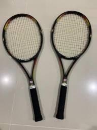 Título do anúncio: Vendo 2 Raquetes de Tênis Wilson + Brinde