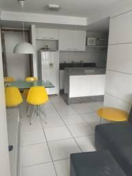 Alugo Flat em boa viagem, próximo ao mar, Sala, cozinha, 01 quarto, 40m²