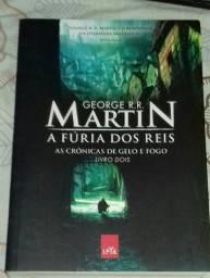 A Fúria dos Reis - As Crônicas de Gelo e Fogo - George R. R. Martin - Usado