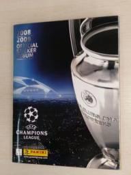 Álbum figurinhas UEFA Champions League 2008-2009