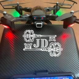 Drone c câmera - GPS, voa ate 500m, grátis uma bolsa
