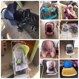 Carrinhos/bebeconforto/andador/bicicletas tudo para seu bebê