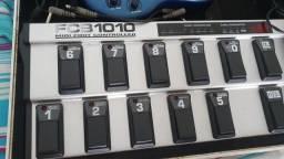 Controladora MIDI FCB1010 + pedaleira digital V-amp 2