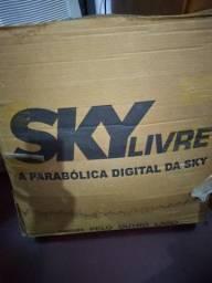 Antena Sky livre nunca usada