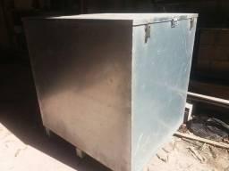 Caixa container de aço galvanizado