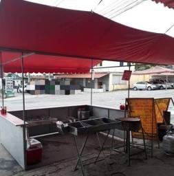 KOMBI + BARRACA DE PASTEL COM CALDO DE CANA