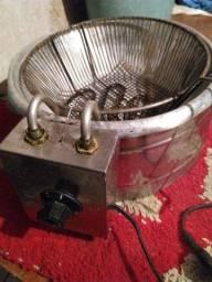 Fritadeira elétrica com Óleo 220v
