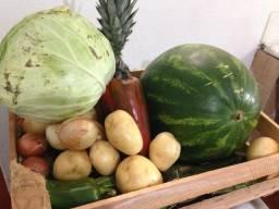 Cesta de Frutas e legumes Mais Cesta Básica!