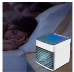Mini Ar Condicionado/Climatizador com LED