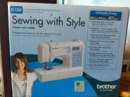 Máquina de costura, Brother (nova)