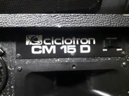 caixa ciclotron cm15d retorno de palco.