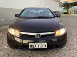 Honda Civic LXS 1.8 Automático 2008 - Super Novo - Oportunidade - Revisado - Baixo Km!!!