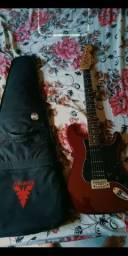 Guitarra e capa