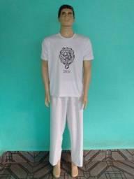 Camiseta camisa + calçolão Orixá Oxum umbanda Candomblé