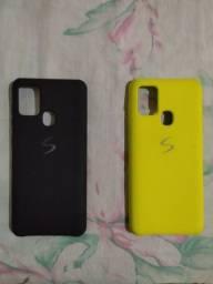 Capinha Samsung A21s novinhas