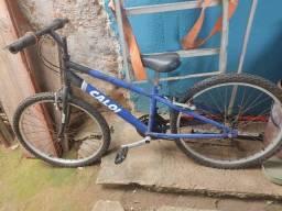 Título do anúncio: Bicicleta aro 24 .Caloi de macha