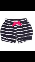 Shorts bombachinha feminino Bebê