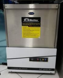 Lavadora de louças automatica industrial netter NT-210 3T  (nova) Alecs