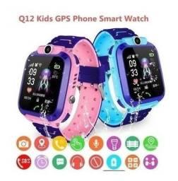 Relógio smart infantil com gps