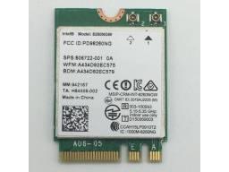 Placa Wifi Intel Dual Band Wireless-ac *ngw - 5ghz