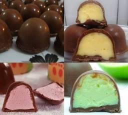 Encomenda de Trufas de chocolate