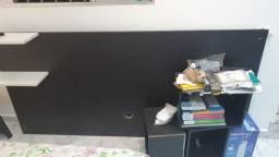 Cabeceira e 3 cubos para parede