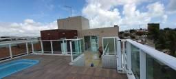 Apartamento na Praia do Poço 65 metros de área e área de lazer na cobertura