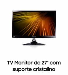 Tv e monitor de 27 polegadas