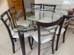 Mesa jantar triângular