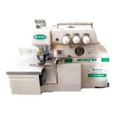 Máquina de Costura Industrial Overloque Usada da Zoje Completa