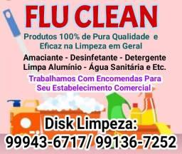 Flu Clean - Produtos de Limpeza