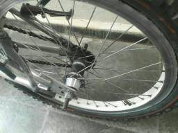 Roda de bike aro 20 traseira paredão