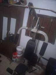 Equipamento de musculação multifuncional 100kg